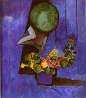 Цветы и керамическая тарелка. 1911. Холст, масло. Городской институт искусств, городская галерея, Франкфурт на Майне, Германия