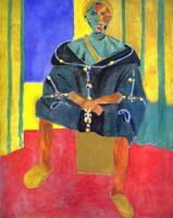 Сидящий Риффиан. 1912-1913. Холст, масло. Фонд Барнса, Линкольнский университет, Мерион, Пенсильвания, США