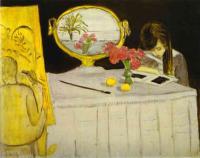 Урок живописи. 1919.