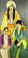 Три сестры. Триптих. Центральная часть. 1917.
