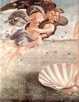 Сандро Боттичелли, Рождение Венеры-левая часть