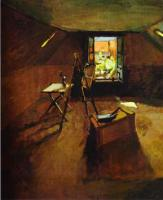 Мастерская на чердаке. 1903. Холст, масло. Фитцвильямский музей, Кэмбридж, Великобритания