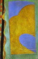 Жёлтая штора. 1914-15.