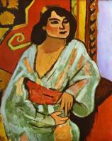 Алжирка. 1909. Холст, масло. Национальный музей современного искусства, центр Жоржа Помпиду, Париж, Франция.