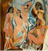 Пабло Пикассо .Авиньонские девицы