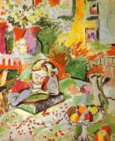pic19Интерьер с девушкой. 1905-6. Холст, масло. Музей современного искусства, Нью-Йорк, США
