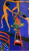 Танец с настурциями. 1912. Холст, масло. Музей Изобразительных Искусств им. А.С.Пушкина, Москва, Россия.