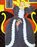Дама в голубом. 1937. Холст, масло. Частная коллекция.