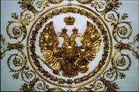 Художественная розетка (украшение на потолке в Эрмитаже)