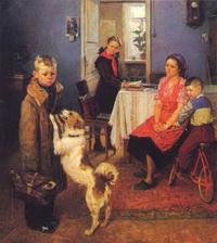 Опять двойка (Ф.П. Решетников, 1952 г.)