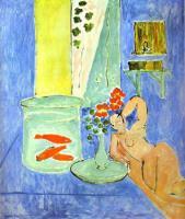Красные рыбки. 1911. Холст, масло. Музей современного искусства, Нью-Йорк, США.