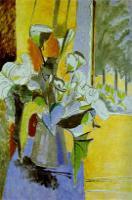 Букет цветов на веранде. 1912-13. Холст, масло. Эрмитаж.