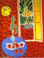 Натюрморт на синем столе. 1947. Холст, масло. Коллекция Нордрайн-Вестфален, Дюссельдорф, Германия