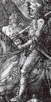 Рыцарь, Смерть и дьявол - фрагмент