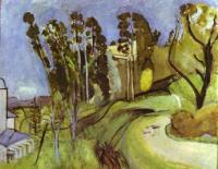 Монтальбан, пейзаж. 1918