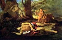 Эхо и Нарцисс 1630 год - Николо Пуссен