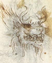 Голова дракона (Леонардо да Винчи)