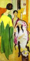 Три сестры. Триптих. Левая часть. 1917