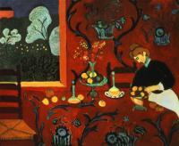 Красная комната. 1912