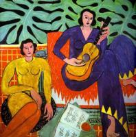 Музыка. 1939. Холст, масло. Художественная галерея Элбрайта Кноха, Буффало, Нью-Йорк, США