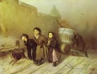 Тройка (В.Г. Перов, 1866 г.)