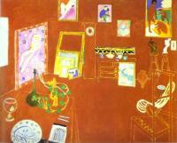 Красная студия. 1911. Холст, масло. Музей современного искусства, Нью-Йорк, США.