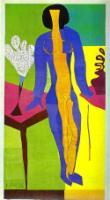 Цумла. 1950. Вырезка из бумаги, гуашь. Государственный музей искусства, Копенгаген, Дания