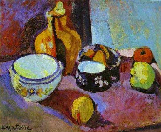 Посуда и фрукты (Анри Матисс)