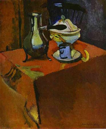 Посуда на столе (Анри Матисс)