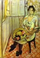 Сидящая женщина. 1919.