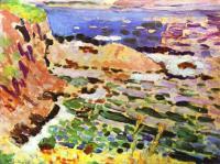 Морской пейзаж. 1905. Холст, масло. Частная коллекция.
