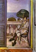 Женщина с зонтом. 1919-20.